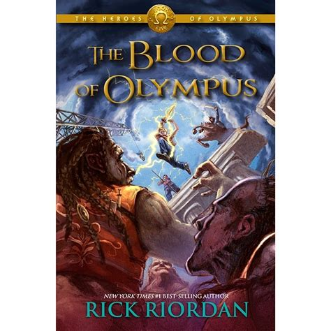 blood of books cover revealed for blood of olympus by rick riordan