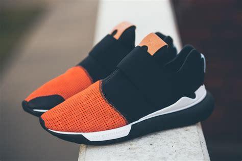 Adidas Y 3 Qasa Black adidas y 3 qasa low ii black orange sbd