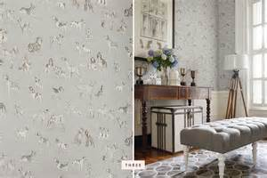 walls and trends trends dog wallpaper decor pretty fluffy