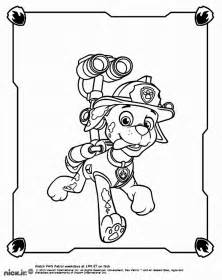 marshall paw patrol coloring pages coloring pages kids svg file cricut
