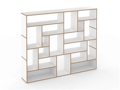 open modular mdf bookcase hanibal by tojo m 246 bel design