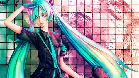 awesome anime girl wallpaper wallpaper anime awesome wallpapers hatsune girl vocal