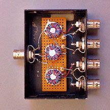 Dx Splitter Antenna 4 Way 4 port box home brew antenna splitter radio