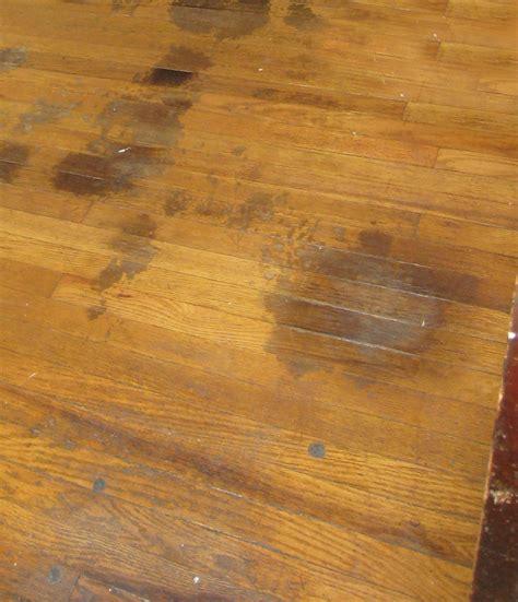 remove wood stain  glass window  wood floor