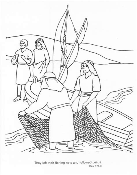 coloring pages jesus fish disciples jesus eat fish with his disciples coloring page coloring