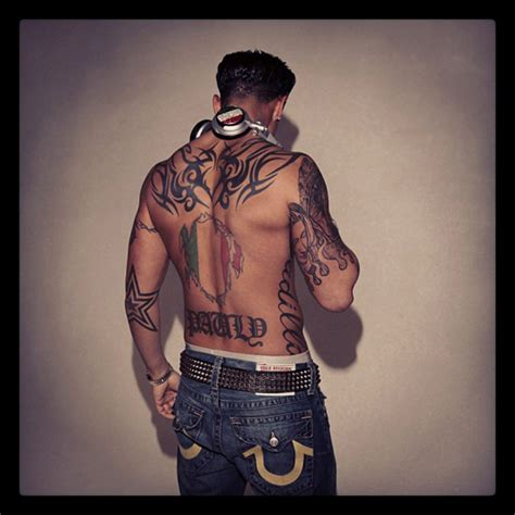 pauly d tattoos gallery for gt pauly d cadillac meaning