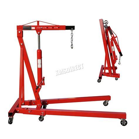 Engine Crane 2 Ton Limited foxhunter 2 ton hydraulic folding engine crane stand hoist lift sx0105