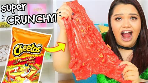 Karina Garcia Giveaway - hot cheeto slime diy super crunchy cheetos slime youtube