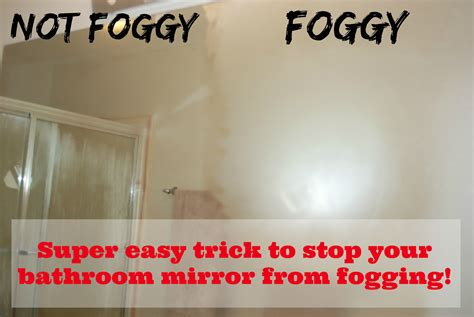 stop your bathroom mirror from fogging tgif this