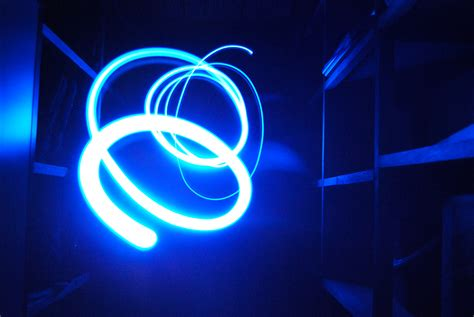 abstract blue light by dlx797 on deviantart