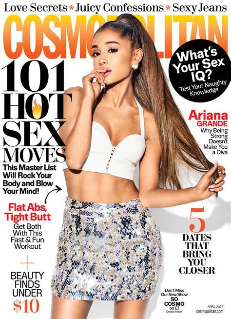 revista sexy 2017 ariana grande for cosmopolitan magazine tom lorenzo