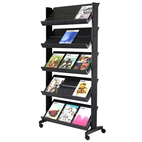 Magazine Rack by Xl Paperflow Model 255n Single Side Magazine Rack Office