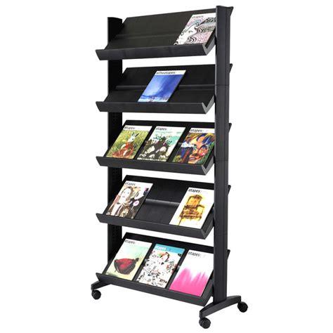 Magazine Racks by Xl Paperflow Model 255n Single Side Magazine Rack Office