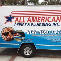 Plumbing Fullerton by All American Repipe Plumbing 55 Photos 103 Reviews