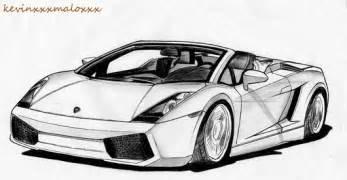 How To Draw Lamborghini Gallardo Lamborghini Gallardo Spyder Drawing