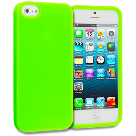 For Iphone 5 5s Silikon Jelly Casing Cover Soft Blue Purple Owl neon green silicone gel cover for iphone 5 5s ebay