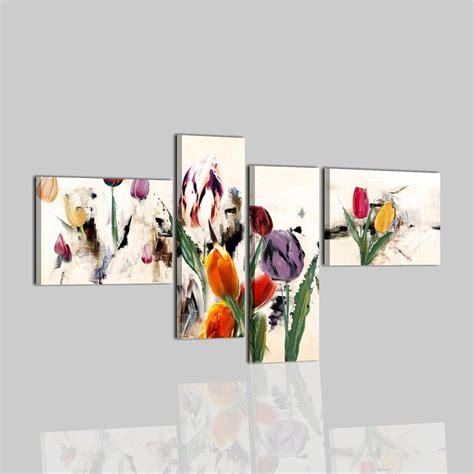 quadri moderni con fiori quadri moderni dipinti a mano su tela con fiori cobay