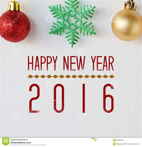 new year 2016 white background happy new year 2016 on white background stock photo
