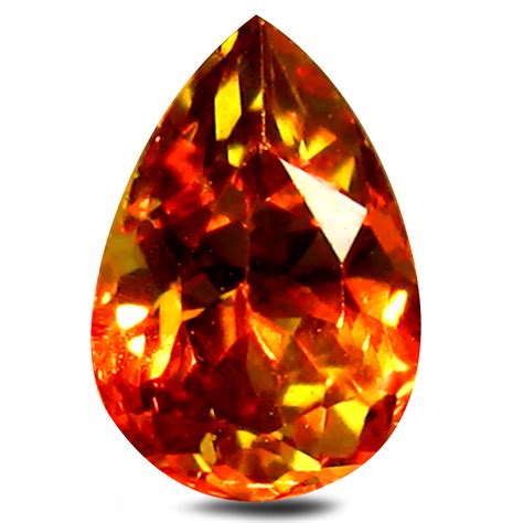 color change garnet 0 61 ct aaa spectacular pear shape 6 x 4 mm color
