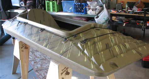 homemade layout boat doors duck boat rich fletcher s blog