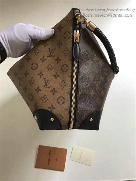 louis vuitton monogram canvas triangle softy