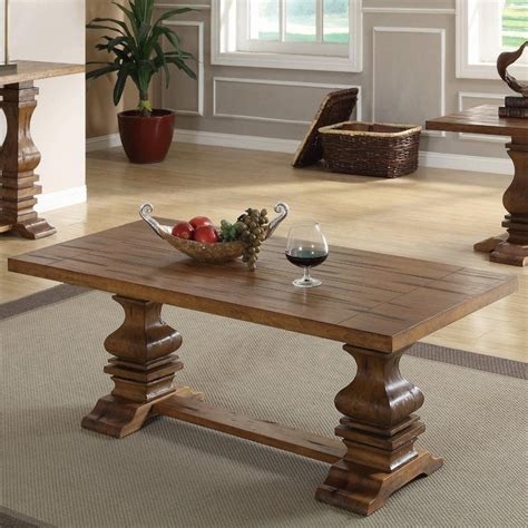 Table Willows Ca by Coaster Willow 701948 Brown Wood Coffee Table A