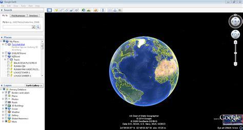 cara membuat akun google earth cara menemukan letak koordinat geografis atau tempat di