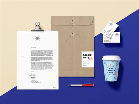 mockup design software open source 35 branding identity stationery psd mockup templates