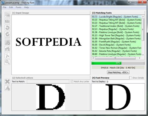 typography finder font identification software