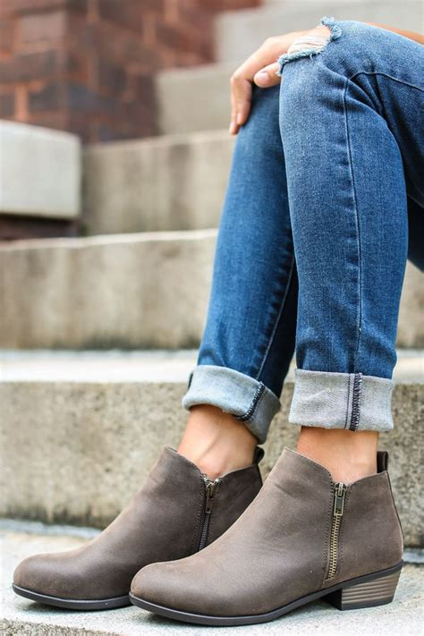 best ankle booties best 25 grey ankle boots ideas on gray boots