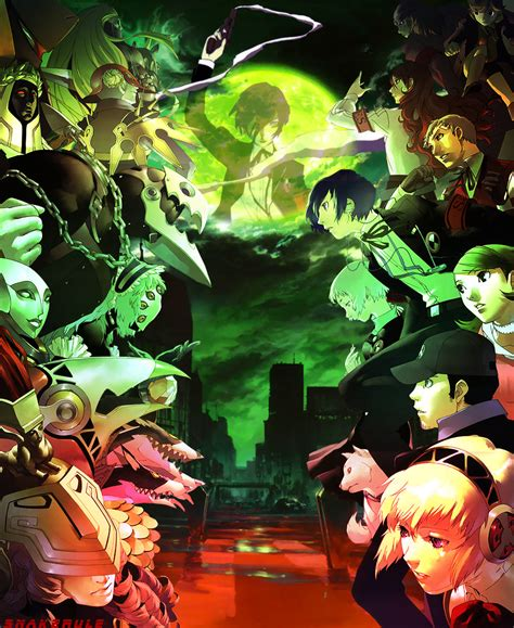 p3p psp extra backgrounds by takebo on deviantart the world of persona 3 by snakerule on deviantart