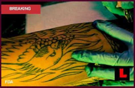 tattoo ink recall list bad tattoo ink prompts health risks recall 2012 alert