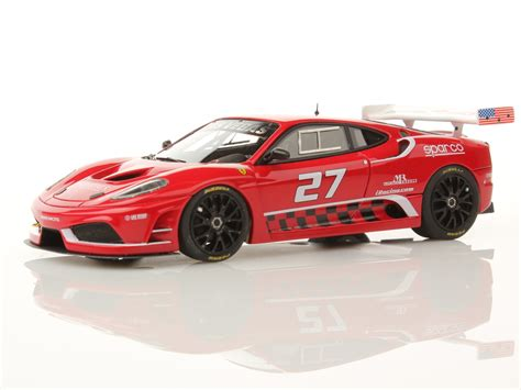 ferrari f430 modified ferrari f430 gt dream racing team 1 43 looksmart models