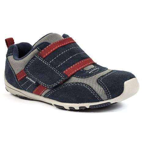 pediped shoes flex 174 adrian navy grey pediped footwear