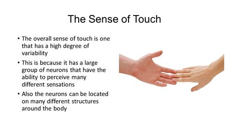 A Touch Of touch ppt