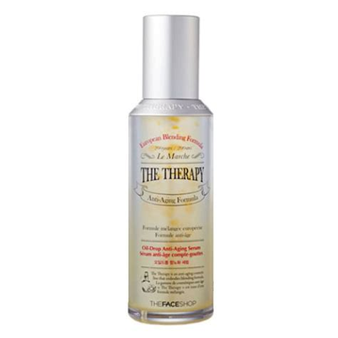 the shop the therapy drop anti aging serum the