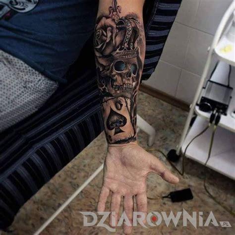 tattoo 3d zegar tatuaże 3d czaszki kwiaty realistyczne dla mężczyzn