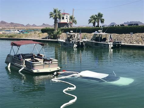 boating accident laughlin going going gone keeping your vehicle out of the lake
