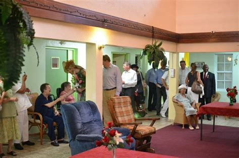 Caribbean House Health Center by Visit Of The Royal Family To The Hon Henry Every