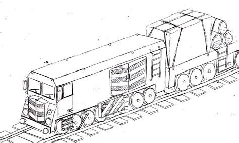 drawing a freight train youtube