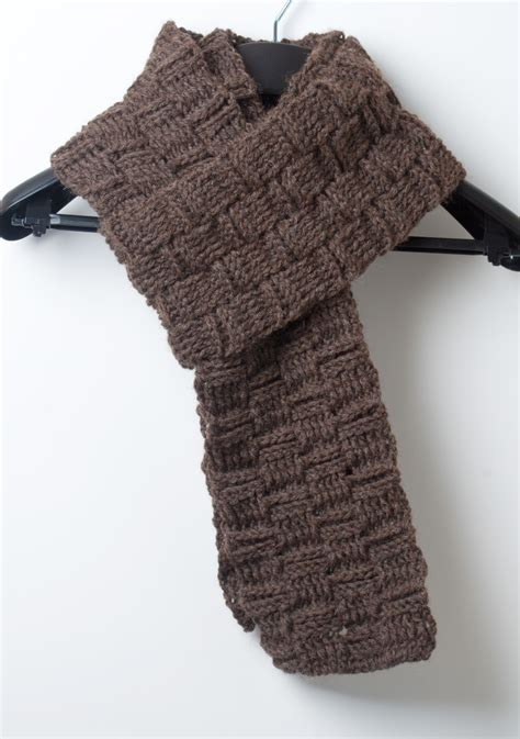 pattern crochet mens scarf men s crochet scarf