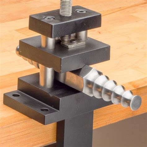 mounting a bench vice forming stake vise vertical vise