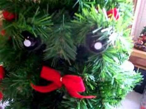 gemmy douglas fir the talking christmas tree youtube