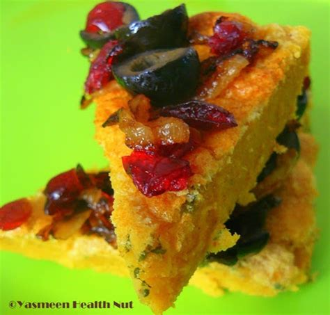 Garbanzobean 1 Kg chickpeas polenta panisse with olives and sun dried tomatoes