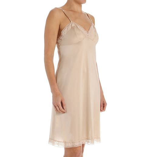 Vanity Apparel by Vanity Fair 1010322 Slip 22 Quot Lace Trimmed Ebay