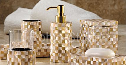 Manufacturers Traders Exporters Of Precious White And Gold Bathroom Accessories