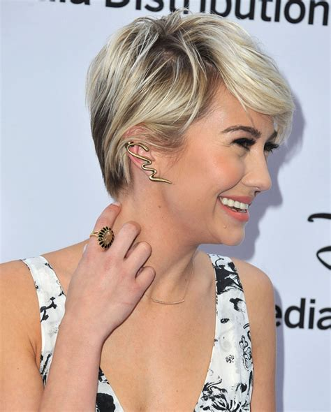 pixie haircutd with short neckline how to match your earrings to your hairstyle hair world
