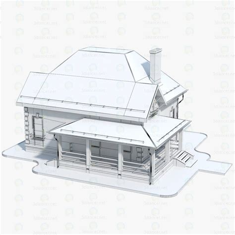 buy house bricks 3d model house brick 1