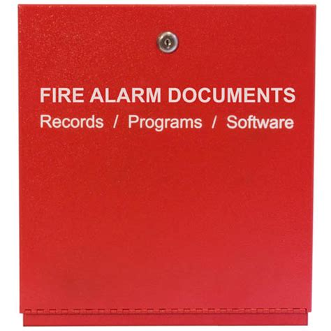 fire alarm document space age electronics ssu00685 fad fire alarm documents box