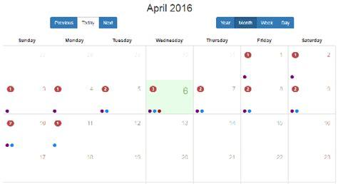 bootstrap calendar widget angularjs